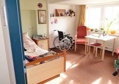 Eines der Wohnzimmer für unsere Bewohner