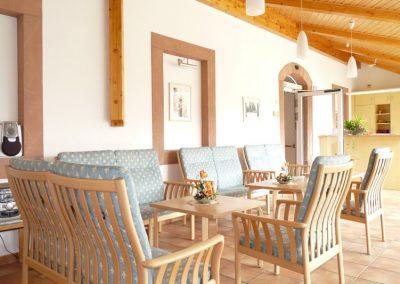 Sitzbereich Wintergarten
