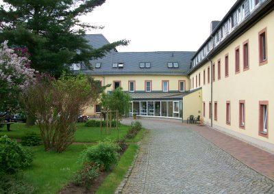Altenpflegeheim Schweikershain Außenansicht
