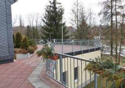Altenpflegeheim Schweikershain Außenterrasse