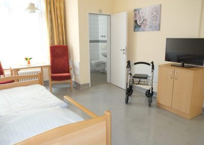 Zimmereinrichtung Kurzzeitpflege Rochlitz